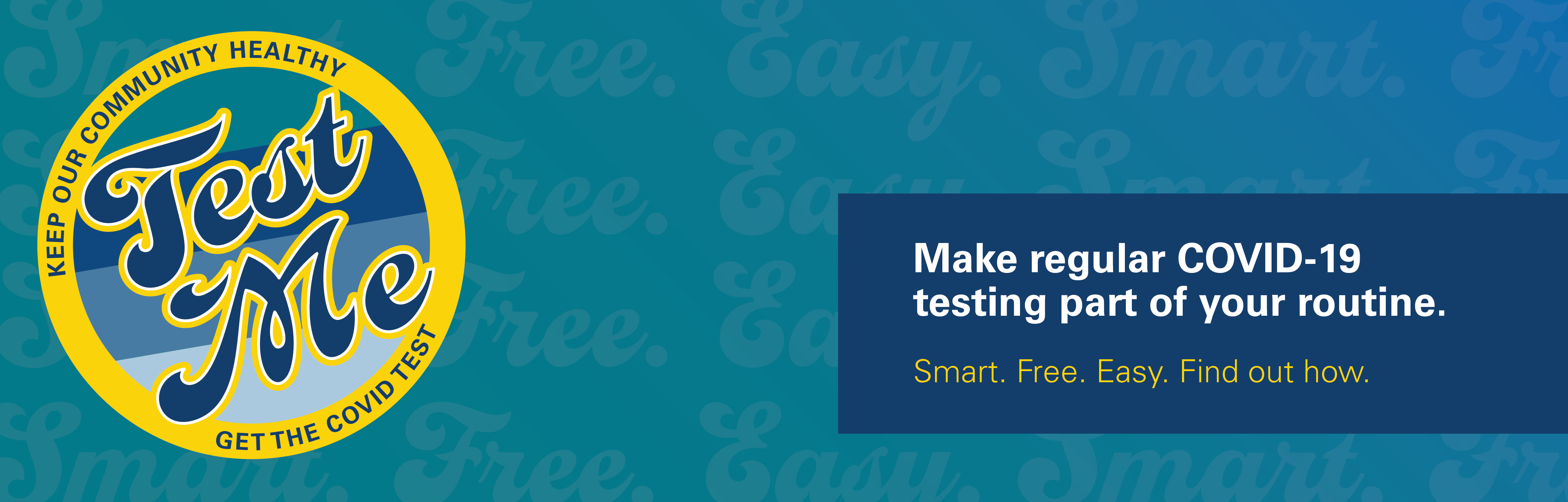 Win prizes at your testing site! Ten $10 gift cards will be given out each week. Prizes may include gift cards for grocery stores, Instacart, Grubhub and more! You do not need to take the COVID-19 test to enter. Please contact dsas@ucsc.edu with any questions or feedback.